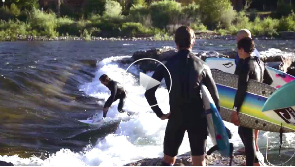 Montana by Dirt: Surfing Takes Off in a Mountain Town  Summer River Surfing