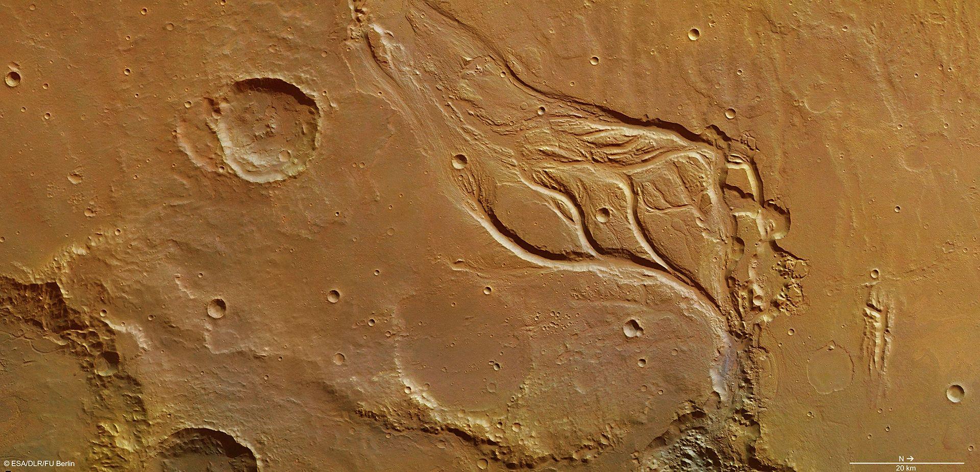 Osuga Valles - Mars