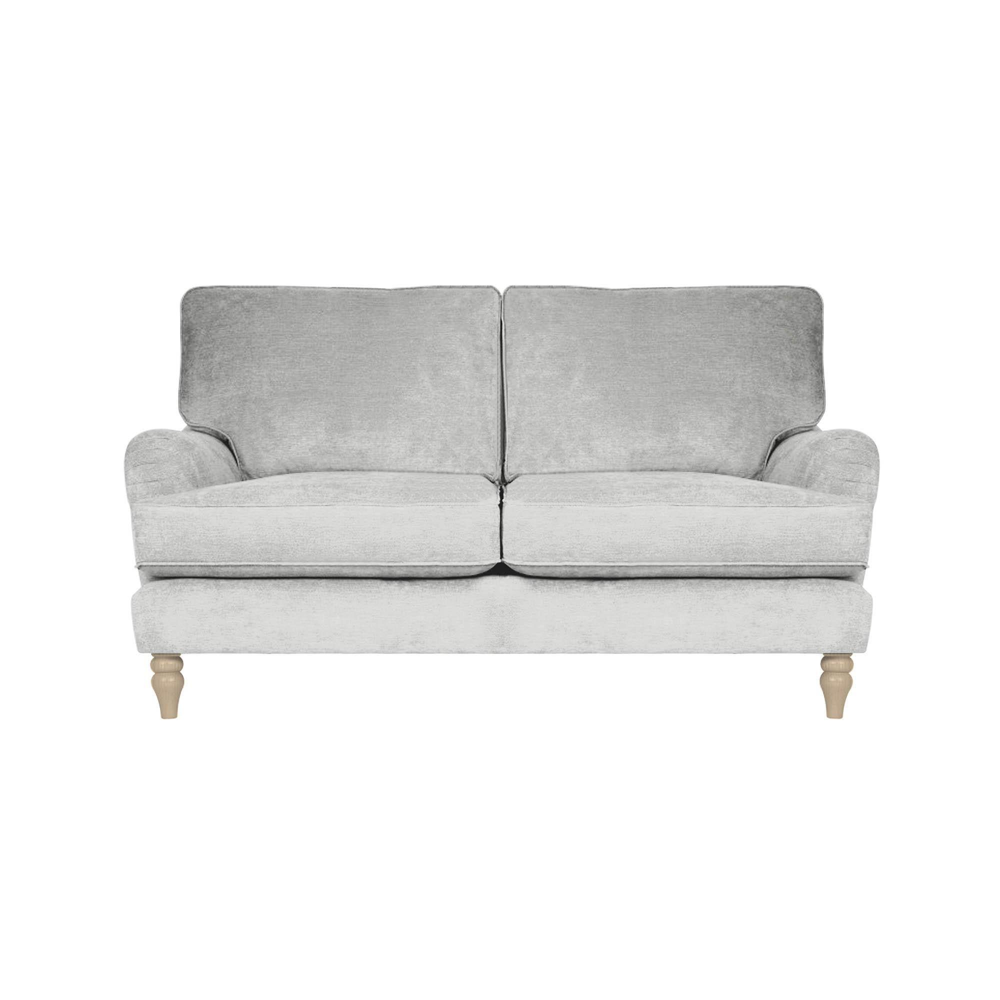 Dunelm Grey Ashby 3 Seater Compact Retro Sofa Retro Sofa Seater Sofa Comfortable Sofa Bed