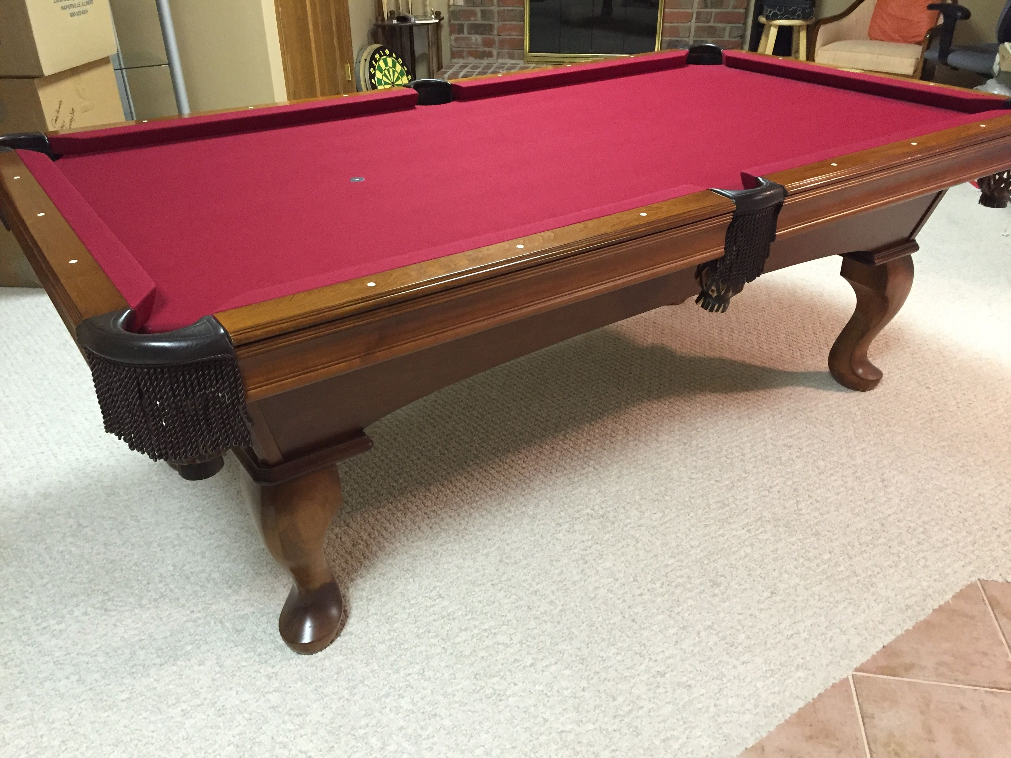 Olhausen Billiards 7u0027 Eclipse Pool Table, ...