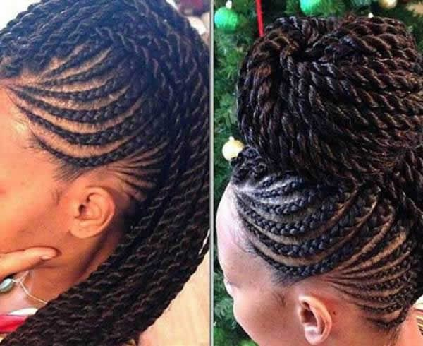 How To Wash Your Cornrows Or Ghana Braids Especially After