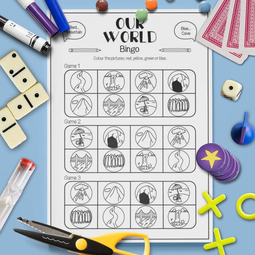 Our World Bingo Game