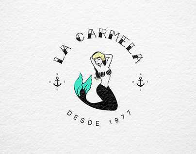One upon a time a sailor that fell in love with a beautiful mermaid, Carmela. She used to cook for him during the long and lonely weeks he was sailing all along the seas...La Carmela is a small place located in a traditional market in Madrid. It is focu…