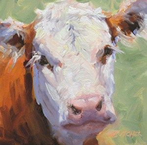 """Daily Paintworks - """"Day 14 of 30 Paintings in 30 Days"""" - Original Fine Art for Sale - © Ginny Butcher"""