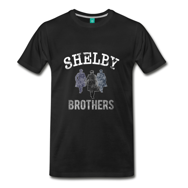 PEAKY BLINDERS shelby brothers Garrison Pub black T-Shirt//TOP MENS  CLOTHING