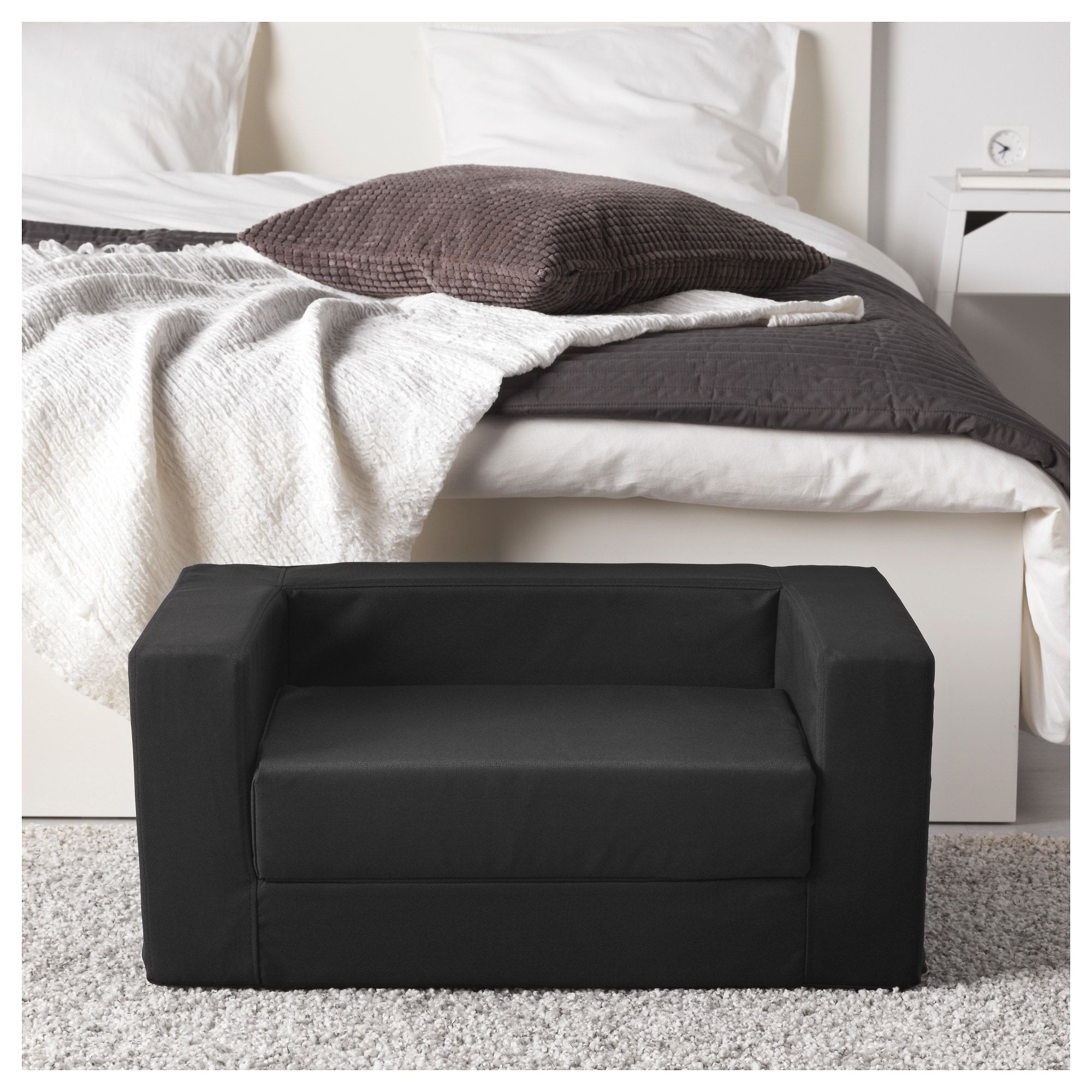 Peachy Ikea Lurvig Cat Dog Bed Black In 2019 Dog Bed Black Machost Co Dining Chair Design Ideas Machostcouk