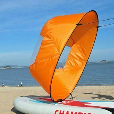 "Foldable Kayak Boat Wind Sail Sup Paddle Board Sailing Windpaddle Sailboat 42/"""
