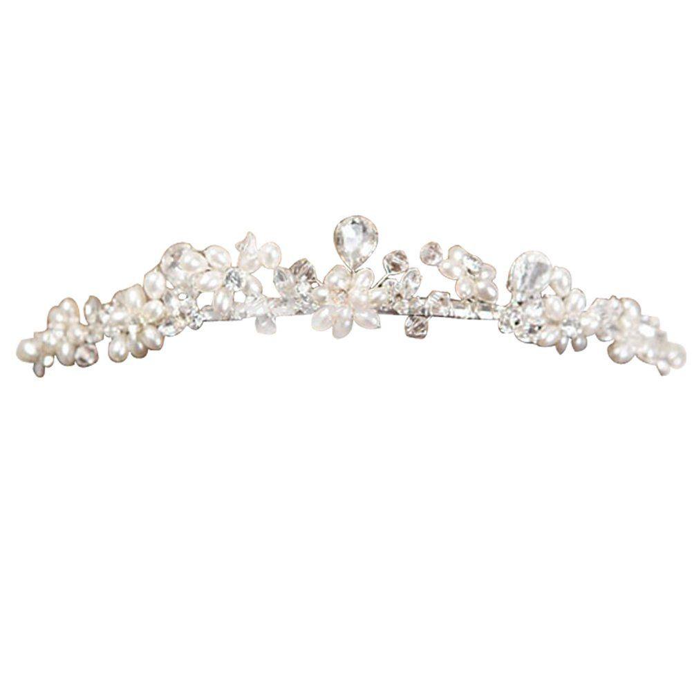 Charlotte Mariage Wedding Tiara Princess Tiara clear crystals HG011 -- Visit the image link more details.