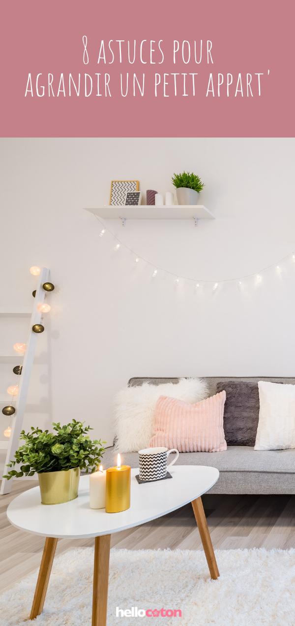 Deco 8 Astuces Pour Agrandir Un Petit Appartement Deco