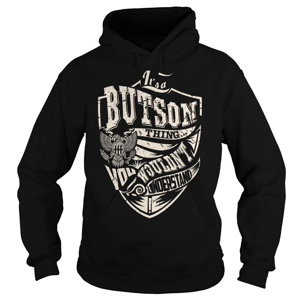 Its a BUTSON Thing (Eagle) - Last Name, Surname T-Shirt