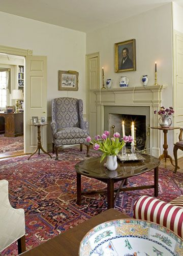 Interiors Colonial Decor Living Room Decor Colonial Style