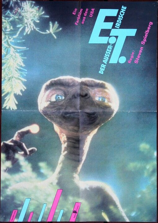 E.T. the Extra-Terrestrial (Steven Spielberg, 1982) East German design