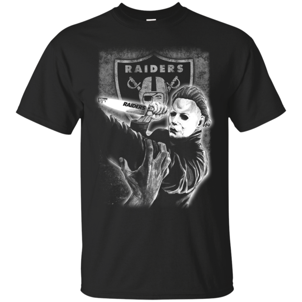 Oakland Raiders shirts Jason Voorhees Friday the 13th T-shirts ...