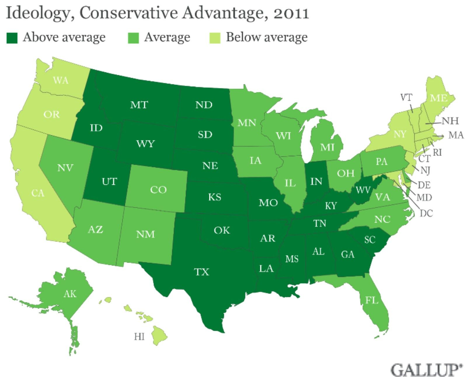 Map America Conservative