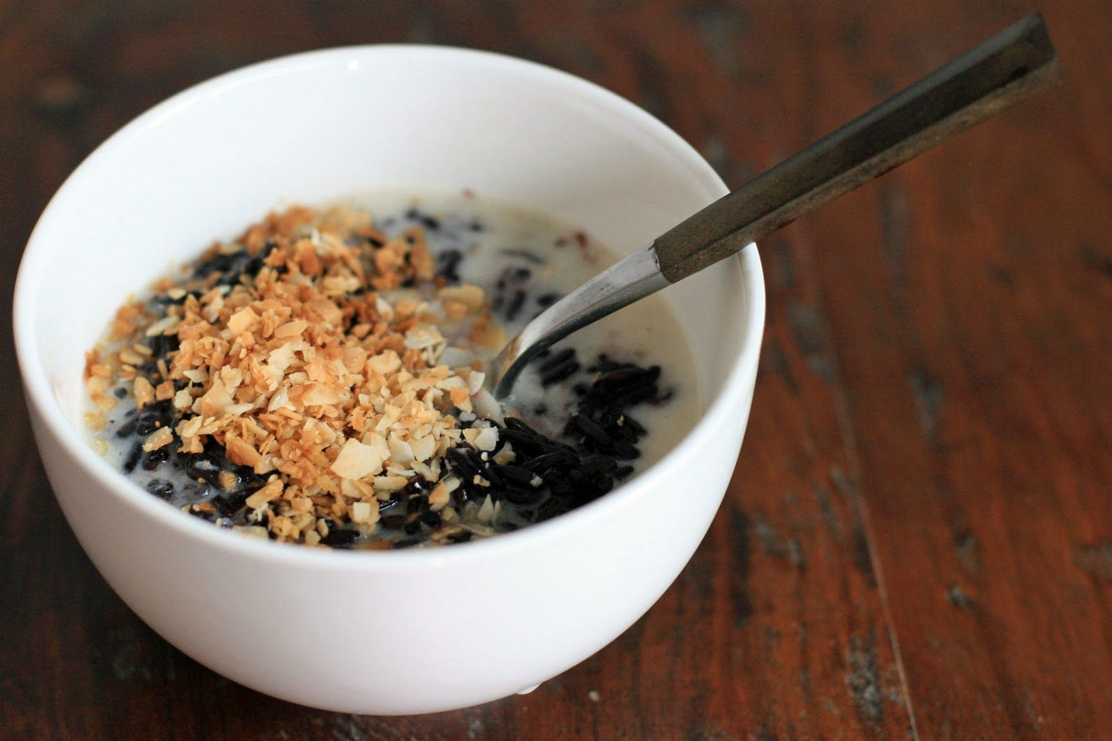 Indonesian Black Sticky Rice Pudding | Recipes, Sticky ...