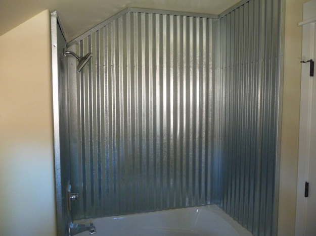 Showers · All Purchased For Around $115. The Metal Was Sealed With  Rust O Leum