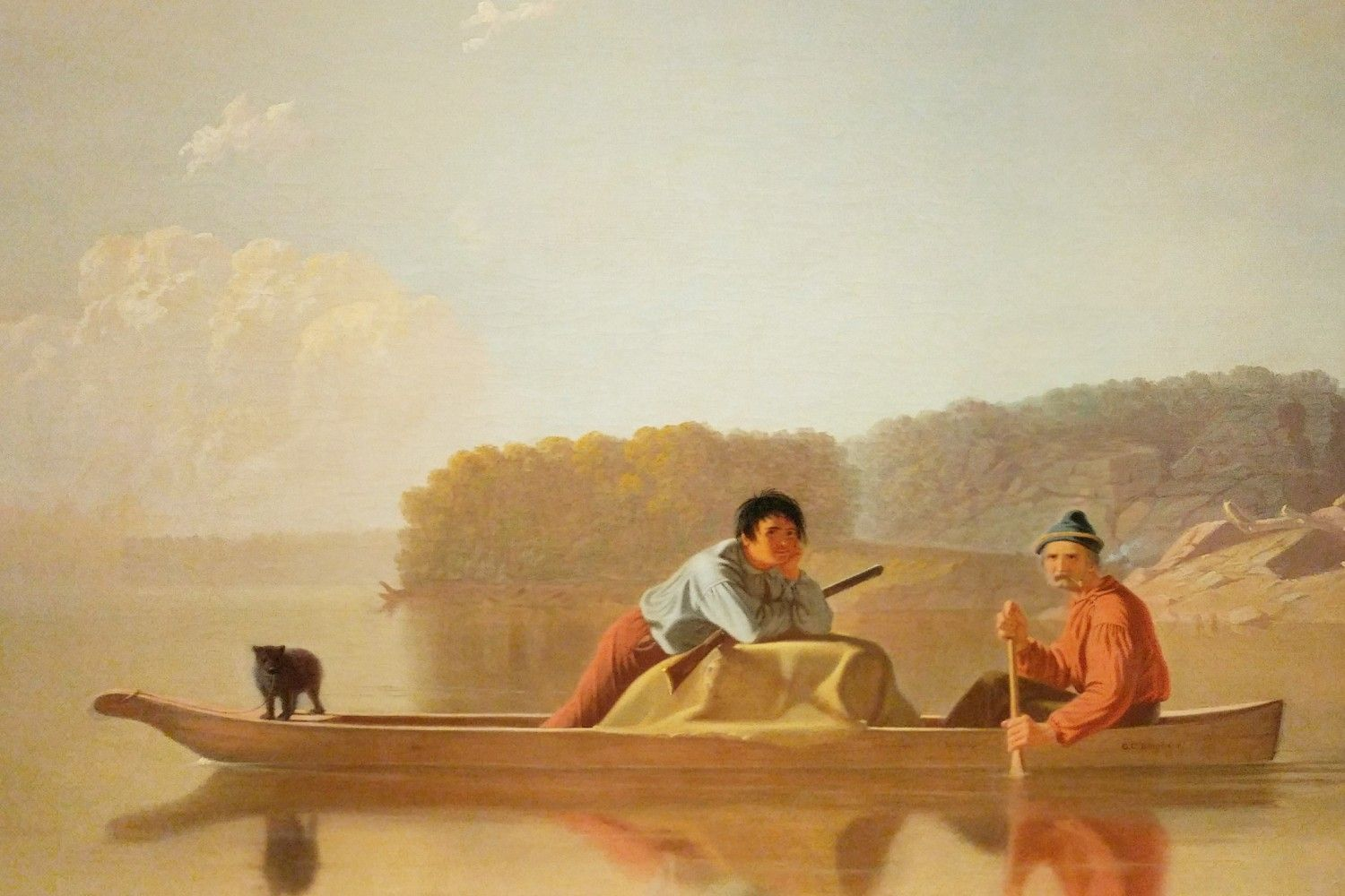Painting on display at the Detroit Institute of Arts.