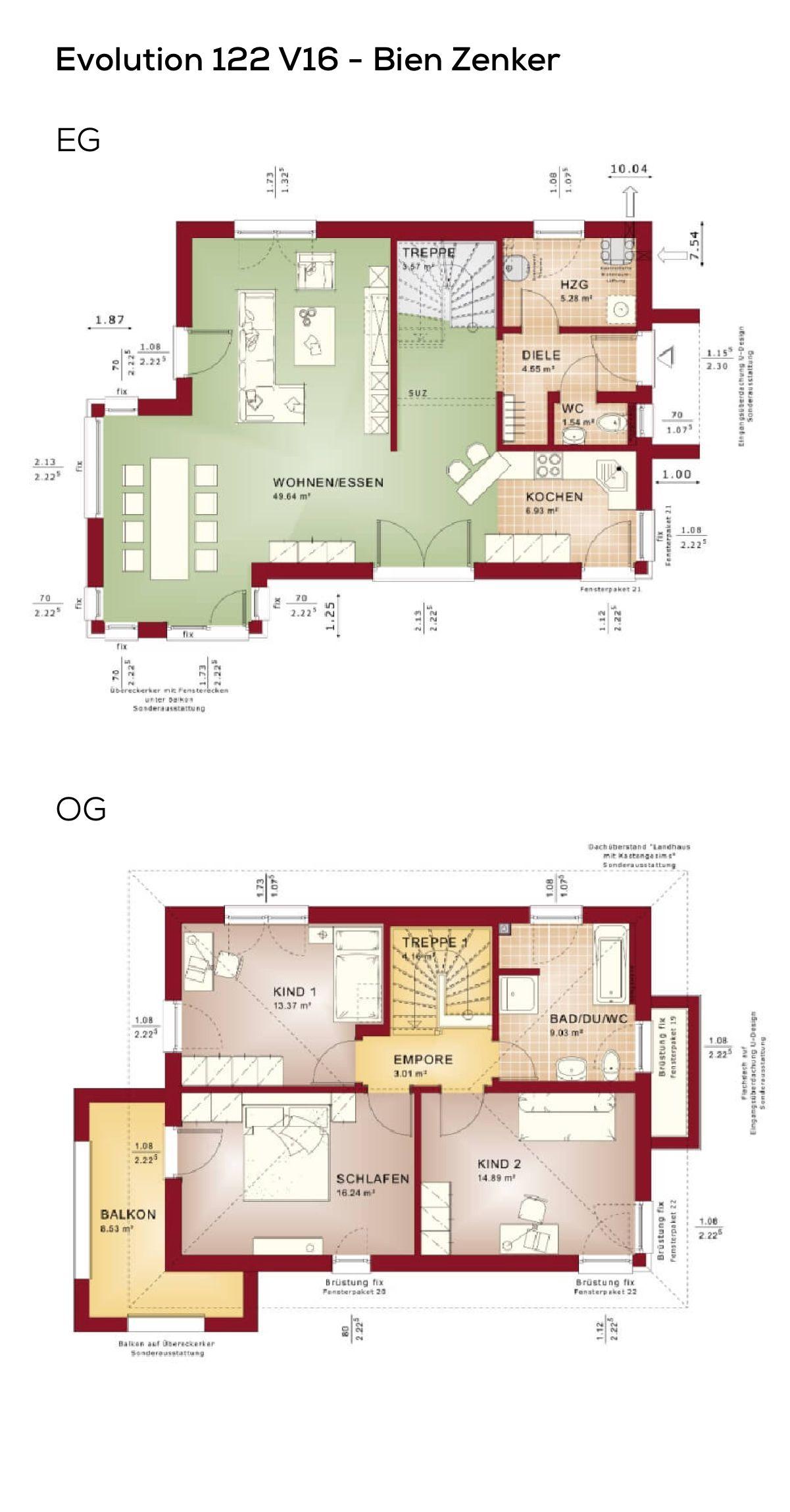grundriss stadtvilla haus mit erker anbau 4 zimmer 122 qm wohnfl che erdgeschoss offene. Black Bedroom Furniture Sets. Home Design Ideas