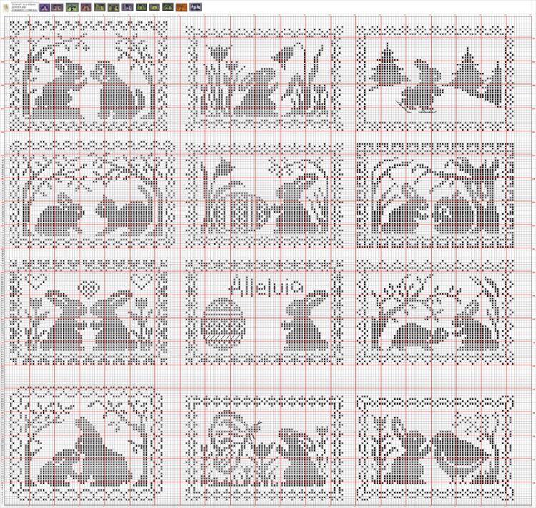 Pin de Anna Gordeeva en Пасха   Pinterest   Manualidade, Tejidos de ...
