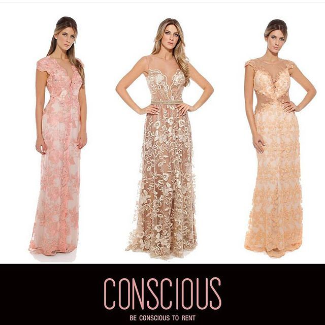 #mulpix Nao sei dizer qual é o mais lindo 😍😍😍 Todos da @dress.conscious ( loja de aluguel e venda de vestidos de festa) ❤❤❤ @dress.conscious