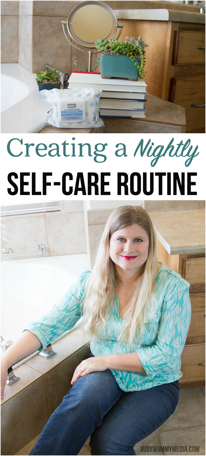 Creating a Nightly SelfCare Routine Self care routine