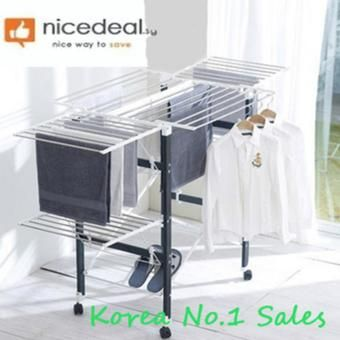 Buy Br806 White Korean Multi Functional Clothes Drying Rack X2f