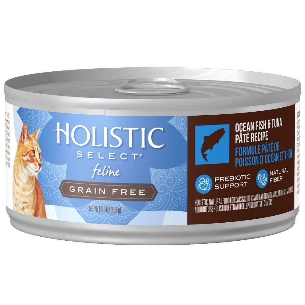Details About Holistic Select Natural Grain Free Oceanfish Tuna