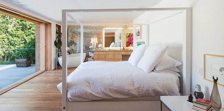 Pin for Later: 23 Celebrity Bedrooms We Want to Sleep In Pamela Anderson