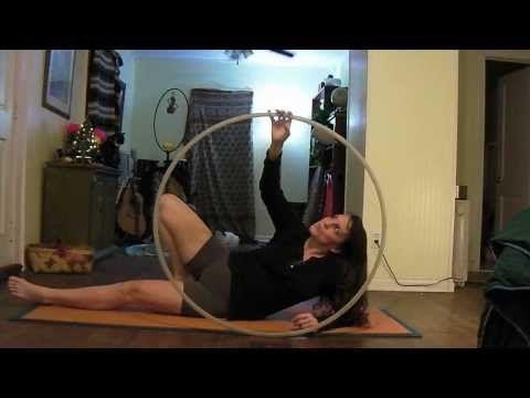 foot hooping tutorial  youtube  hula hoop shoulder stand