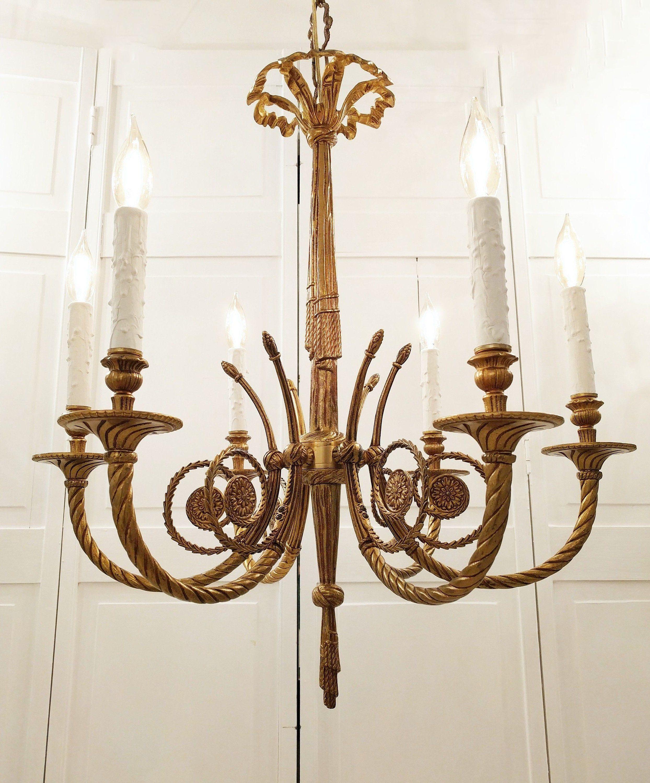 Vintage Chandelier Chandelier Lighting Solid Brass Chandelier