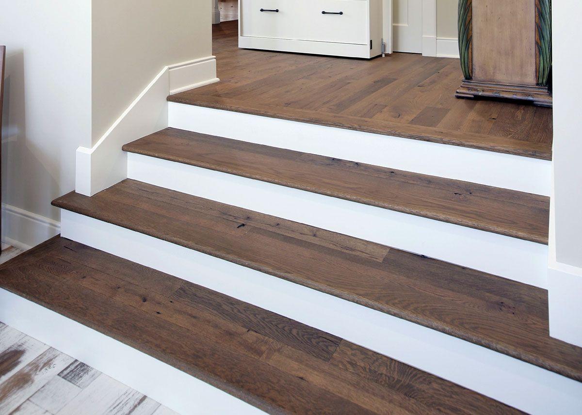 Antique Beam Sawn Oak Stair Treads Oak Stairs Wood | Custom Oak Stair Treads