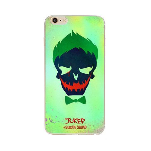 Suicide Squad Joker Harley Quinn IPhone 6S Case Gel Protective Cover for iPhone 6 6S 4.7 inch