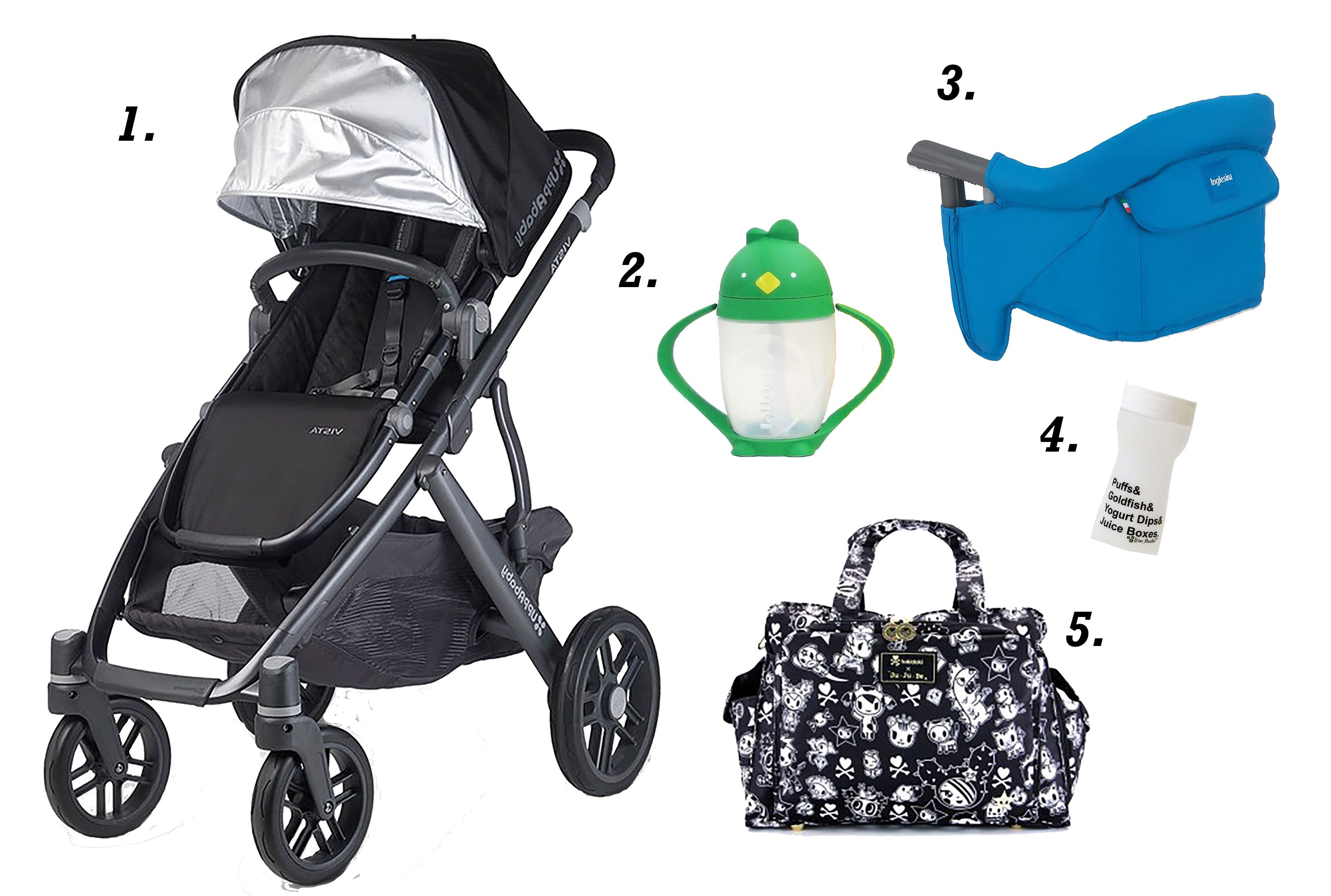 Pea In The Pod adventuring essentials Baby strollers
