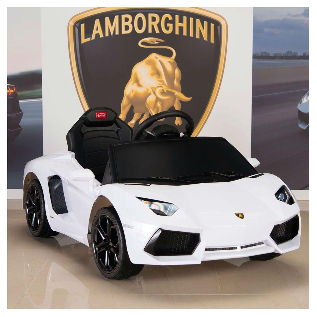 Lamborghini Kids Ride On Power Wheels Car W Rc Remote Control White Aventador Guaranteed Quality Baby Lamborghi Kids Ride On Power Wheel Cars Kids Car Bed