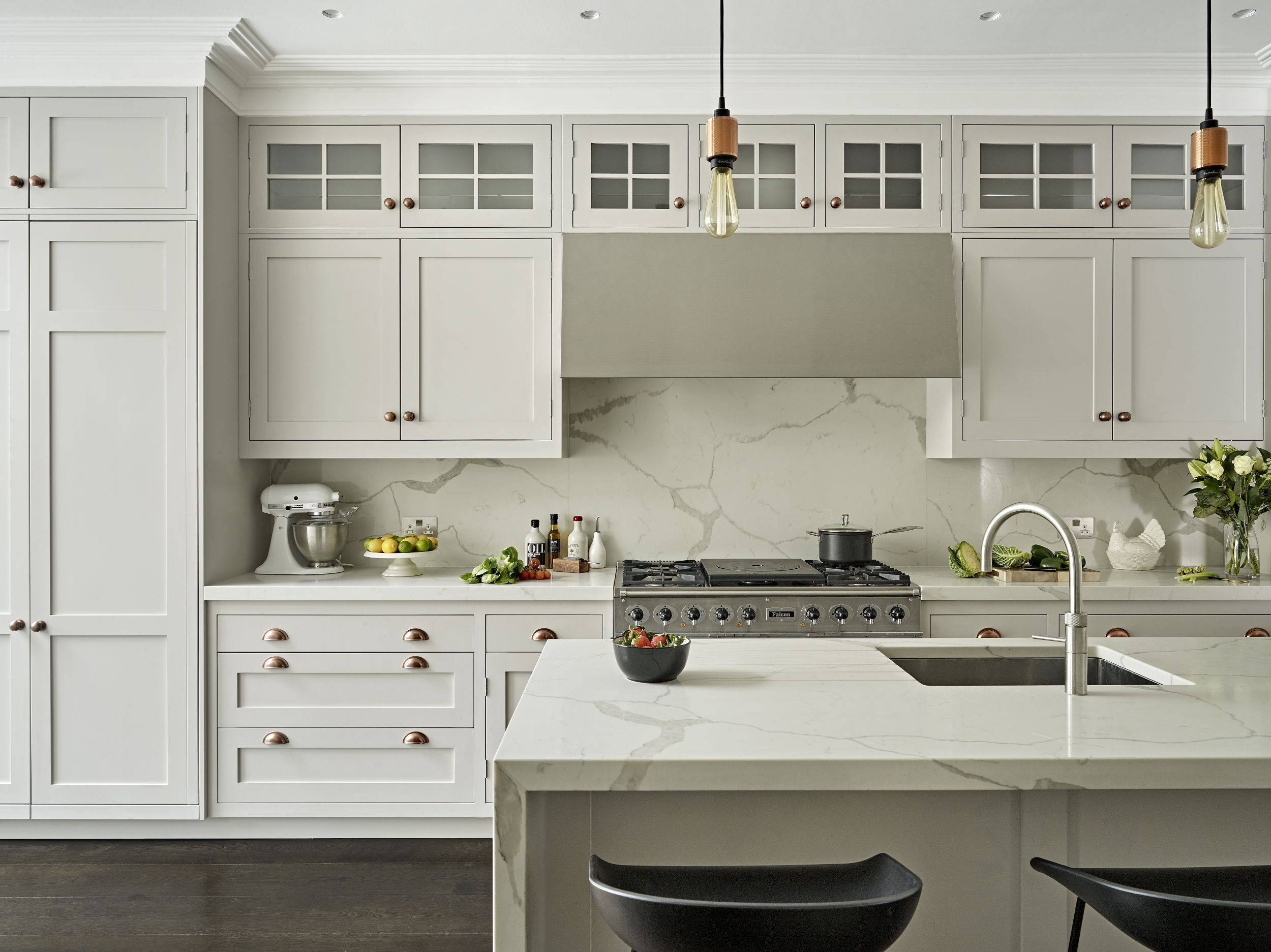 Putney Victorian House Kitchens By Brayer Design Traditional Kitchen Design Kitchen Design Kitchen Marble