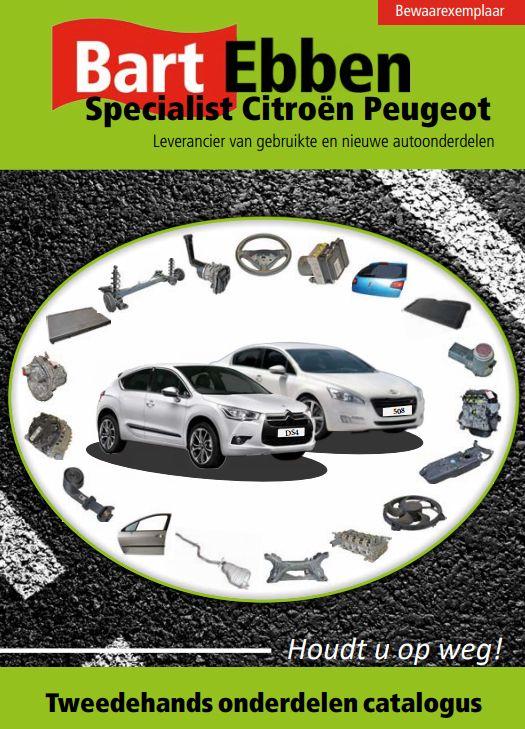 Catalogus Voor Tweedehands Wisselstukken Citroen En Peugeot Met