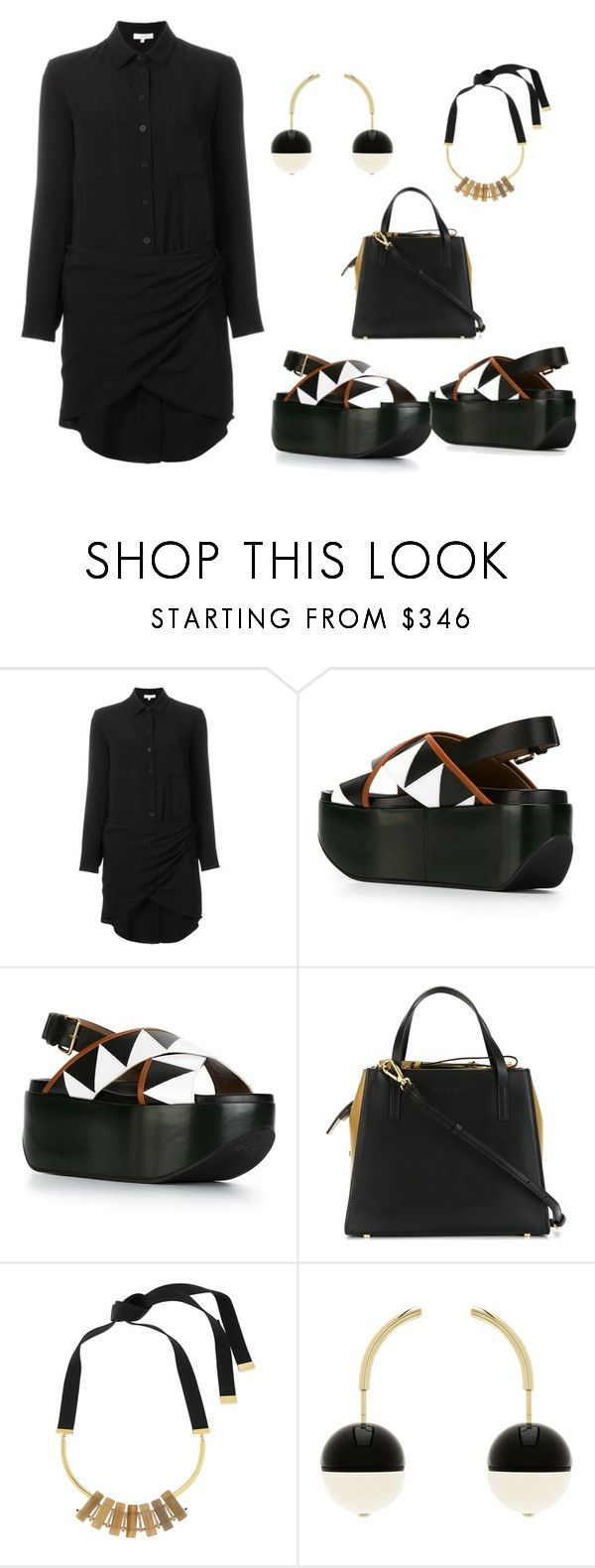 """""""Untitled #2938"""" by vero1307 ❤ liked on Polyvore featuring IRO and Marni"""
