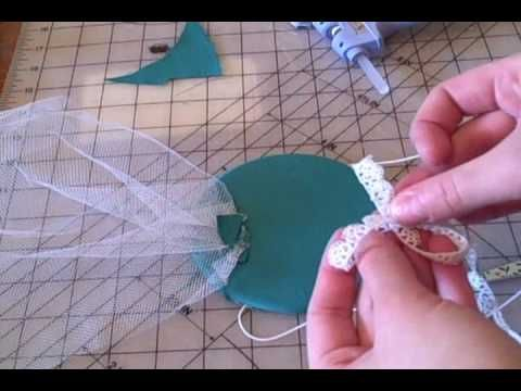 How to Make a vintage style fascinator hat with a veil