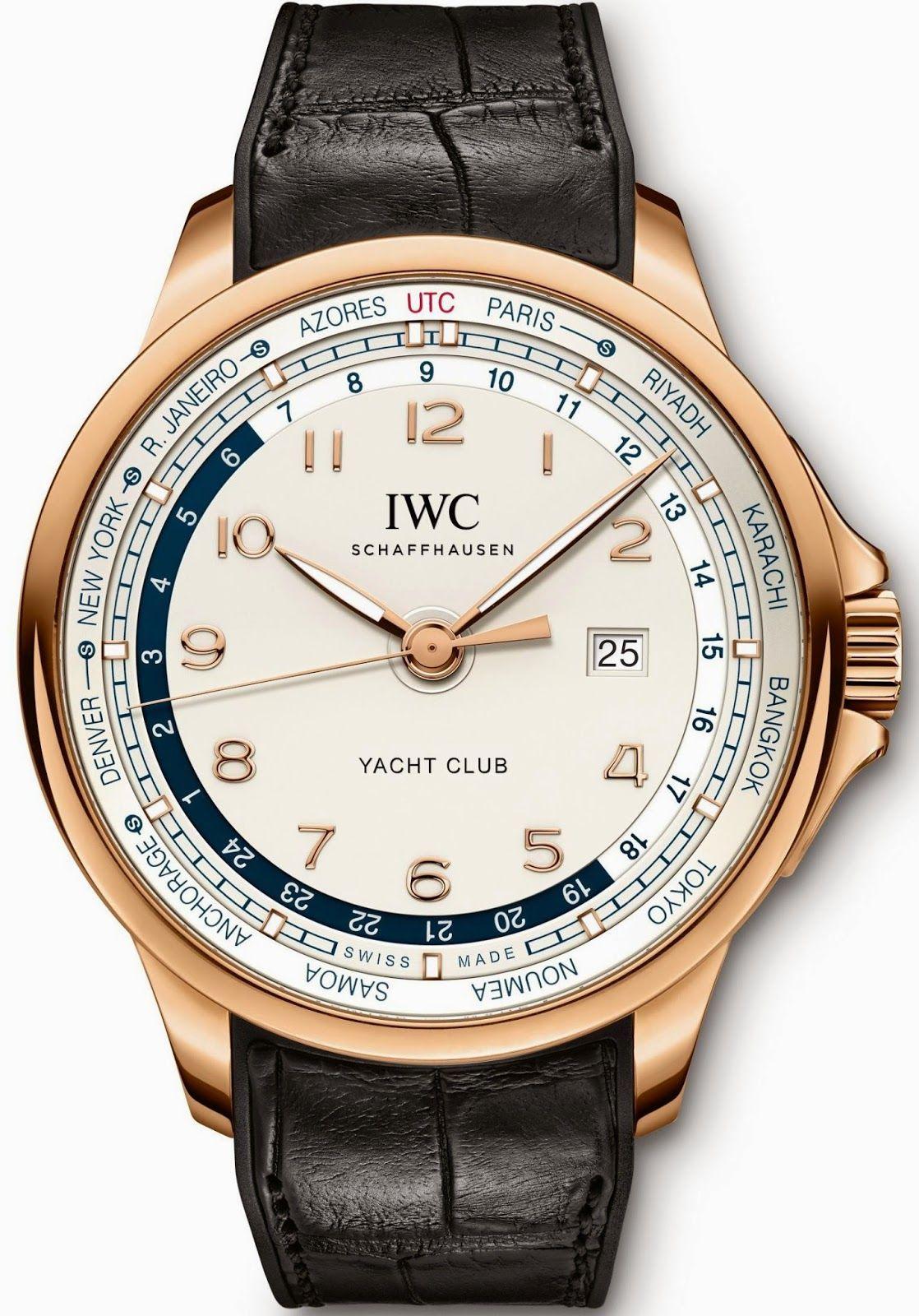 IWC Schaffhausen Portugieser Yacht Club Worldtimer Iwc