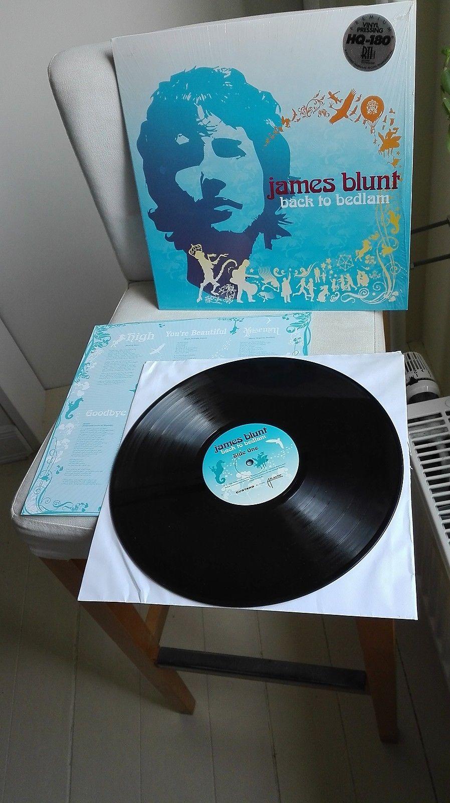JAMES BLUNT >>> original 180 gram Vinyl LP