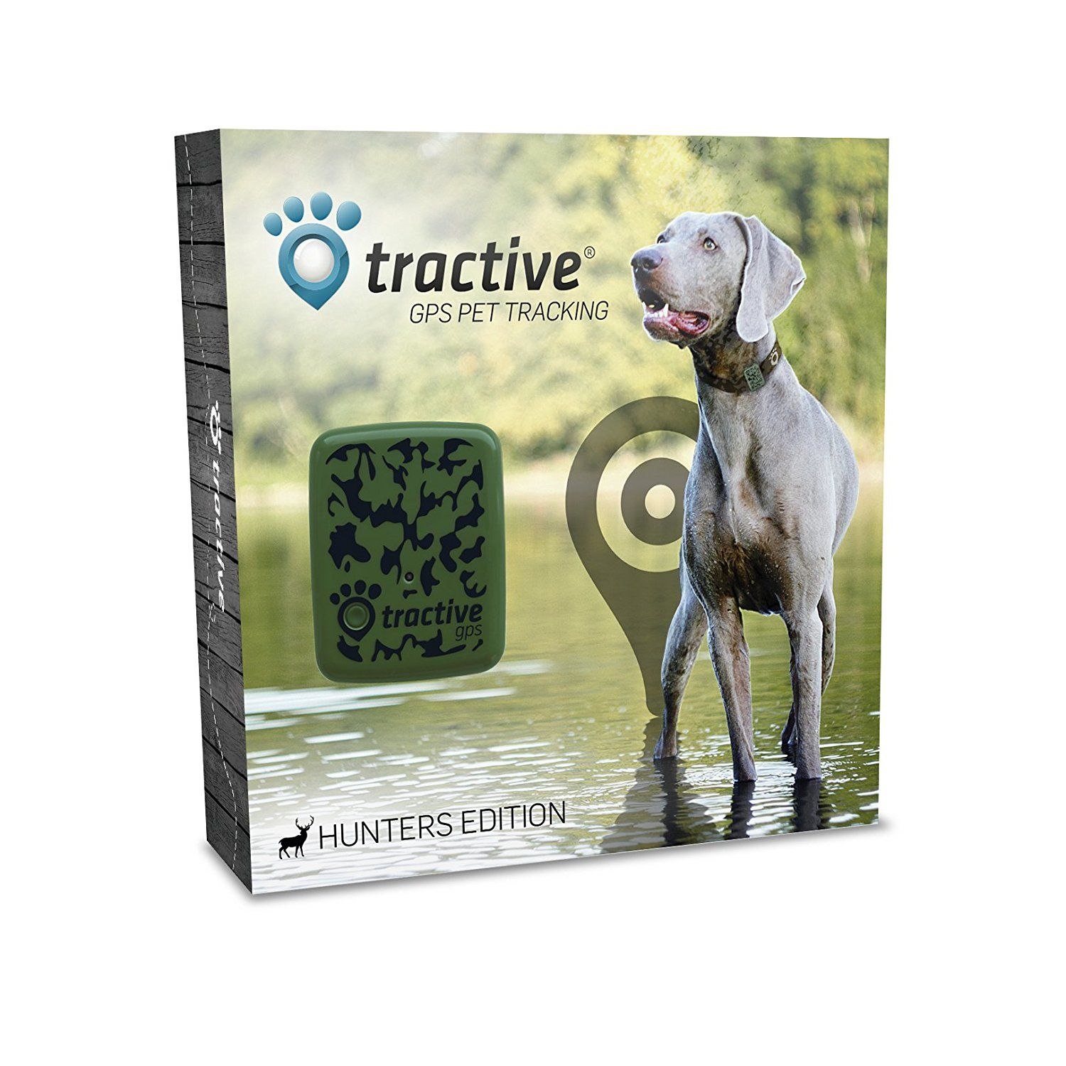 Tractive GPS cat Tracker, Camouflage, One Size Find out