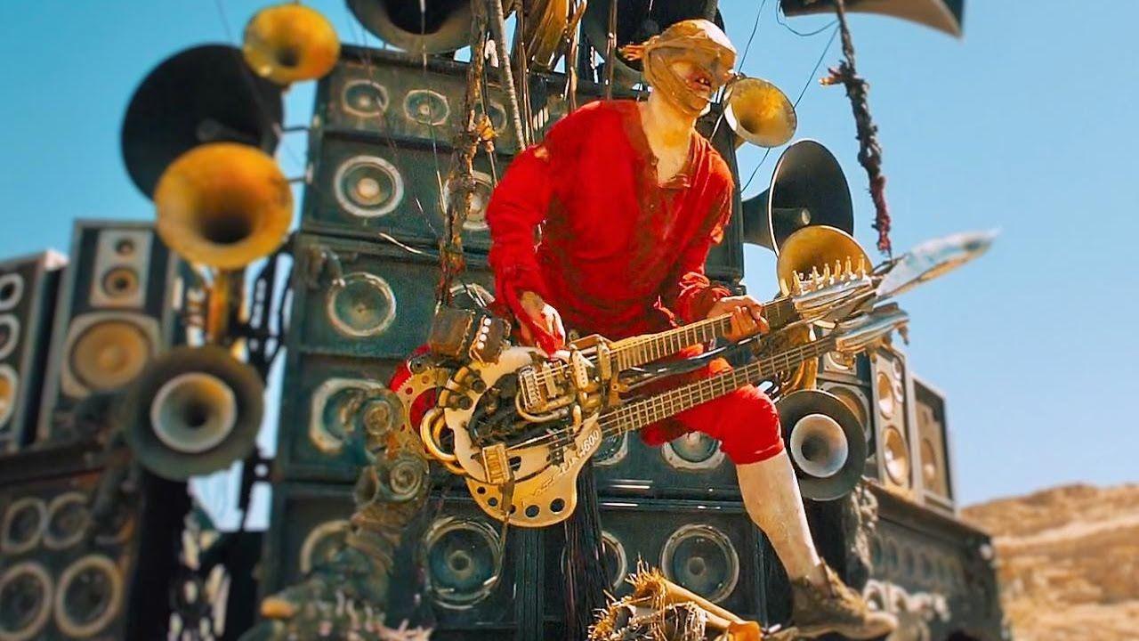 Mad Max Fury Road Guitar Guy Full Scenes Mad Max Fury Road