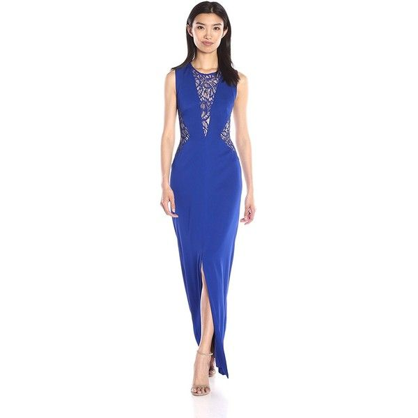 Nicole Miller Women\'s New Stretch Crepe Gown ($153) ❤ liked on ...
