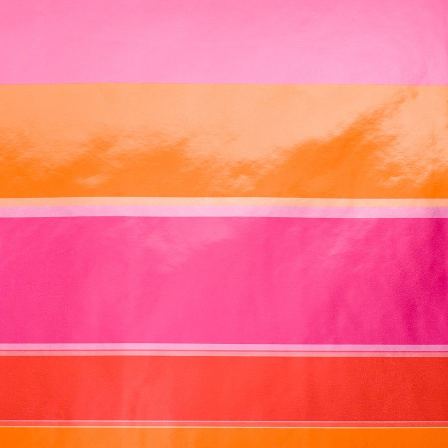 Orange and Fuchsia Waves Wrapping Paper