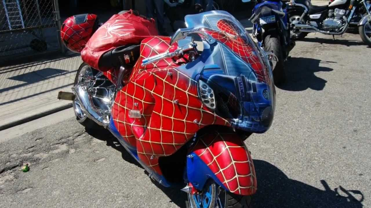 Spiderman Motorcycle Super Bikes Sport Bikes Bike