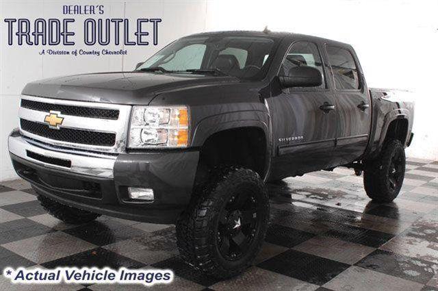 2010 chevrolet silverado 1500 4x4 crew cab 6 inch lift 35 inch tires chevy pinterest. Black Bedroom Furniture Sets. Home Design Ideas