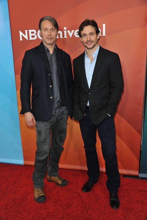 Mads Mikkelsen & Hugh Dancy | Hannibal-Mads | Pinterest ...