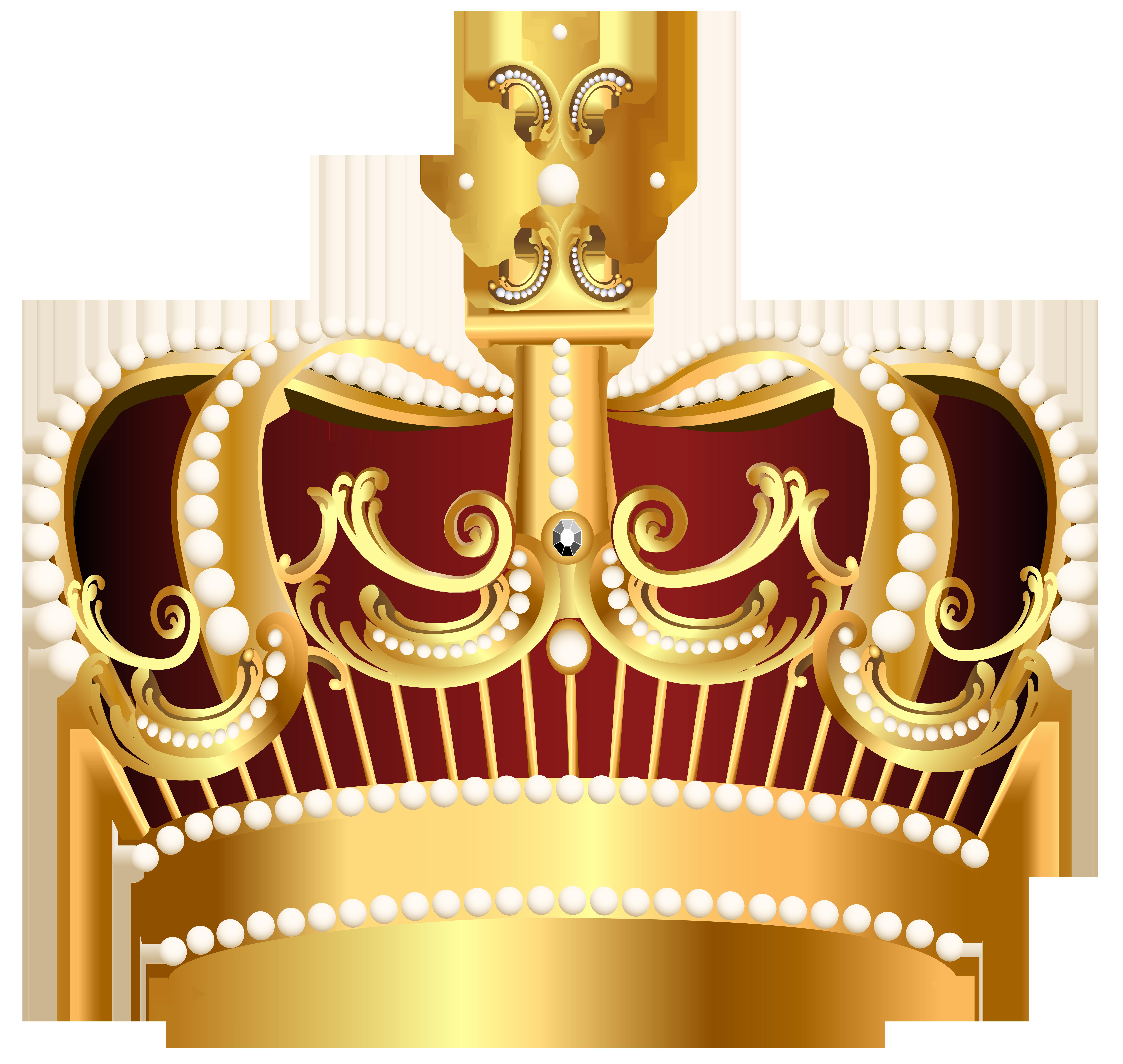 Golden Crown Transparent Png Clip Art Image