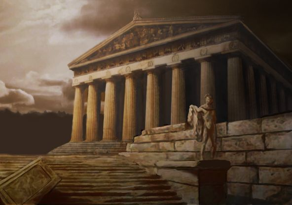 "historical background of ancient greece ""at its heart the ancient olympic games was a religious festival held in a religious sanctuary,"" paul christesen, professor of ancient greek history at dartmouth college, usa, explained as christesen went on to say, ""it was not just a matter of playing sports."