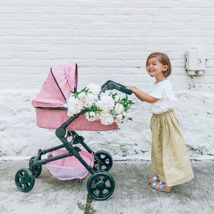 That's darling!💕 Every girl needs a doll stroller! Find
